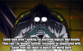 The Major From Hellsing in a Nutshell