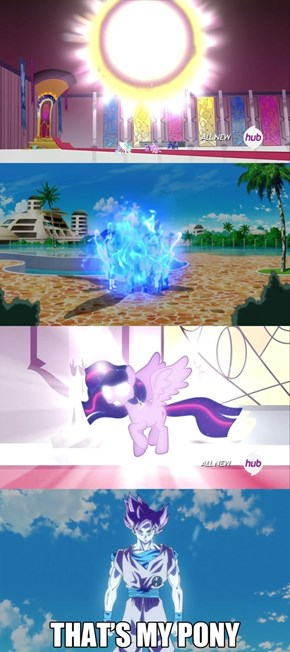 Princess Twilight is the Super Pony God