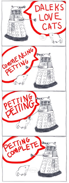 Cats Make The Best Daleks