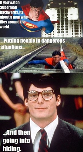 Superman the Devious Bastard