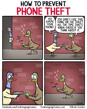 No One Will Want Your Phone Now!