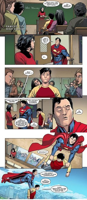 Billy Batson Has an Awkward Life