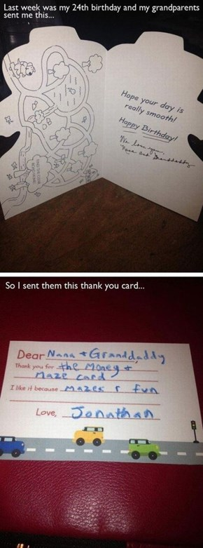 You're Never Too Old For These Kinds of Card