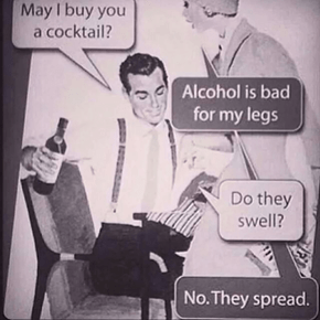 Alcohol Hurts the Joints