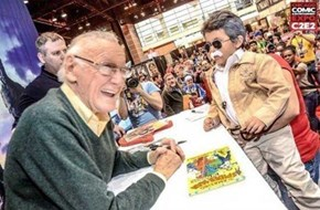 Nice to Meet You, Stan Lee! I'm Wee Lee!