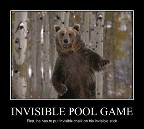 INVISIBLE POOL GAME