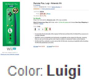 Luigi is Best Color