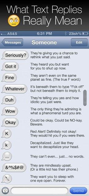 How to Decipher Those Vague Text Messages