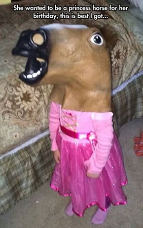 Princess Horse Mask
