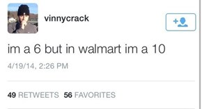 Everyone Looks Better at Wal-Mart