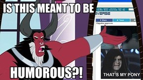 Tirek doesn't approve