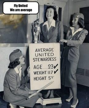 Fly United  We are average