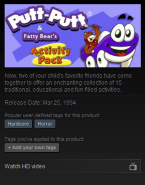 Steam Tags Strike Again
