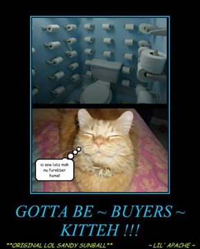 GOTTA BE ~ BUYERS ~ KITTEH !!!