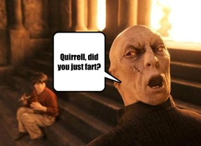 Quirrell, did you just fart?