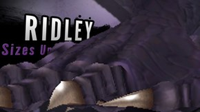 Ridley is Just Too Big