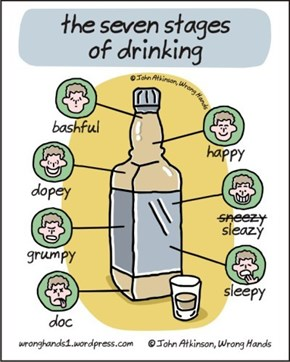 The Seven Stages of Drinking