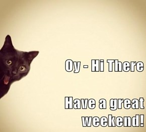 Oy - Hi There Have a great weekend!