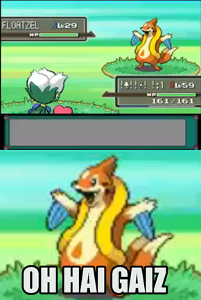 Floatzel is Super Excited to Battle