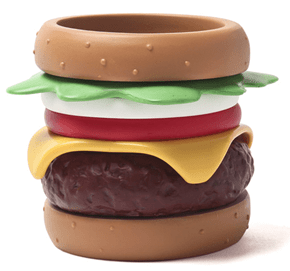 Because You've Secretly Always Wanted to Wear a Burger on Your Wrist