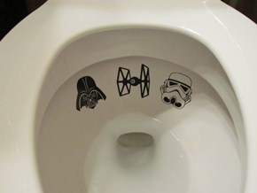 You Can Turn Off Your Targeting Computer With These Toilet Decals