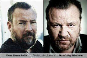 Vice's Shane Smith Totally Looks Like Noah's Ray Winstone