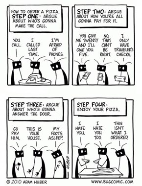 Things That Bug Everyone About Ordering Pizza With Friends