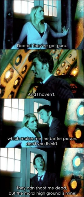 The Doctor Prefer Bananas