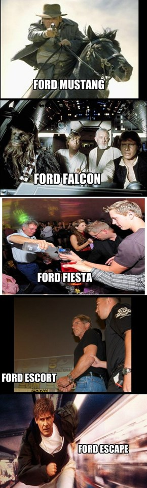 The Fords Throughout The Years