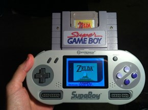 The Most Complicated Way to Play Game Boy Games