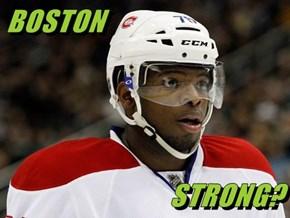 BOSTON                               STRONG?