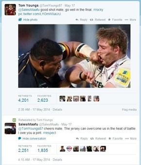 Rugby Players Have the Best Non-Feuds in Sports