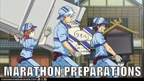 MARATHON PREPARATIONS