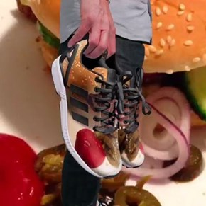 Adidas Sneakers Cheez-Style!