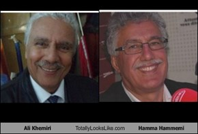 Ali Khemiri Totally Looks Like Hamma Hammemi