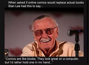 The Stan Lee Metaphor That All Comic Readers Understand