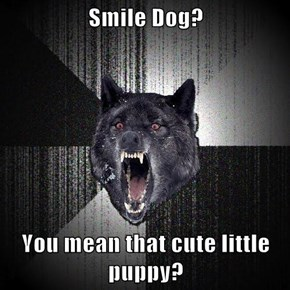 Smile Dog?  You mean that cute little puppy?
