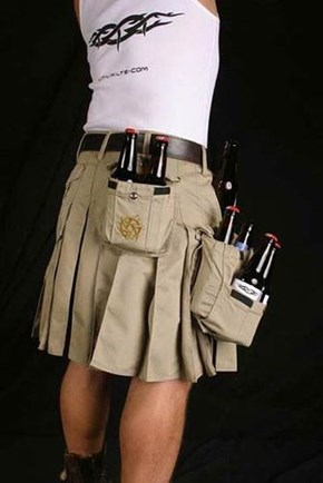 The Kilt that Holds a Lot of Beer