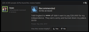 The Steam Community Reviews Tropico 5