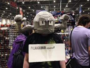 Amazing Geodude Cosplay