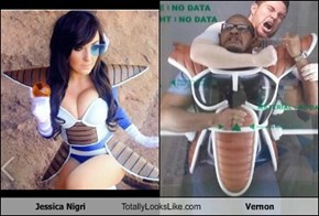 Jessica Nigri Totally Looks Like Vernon