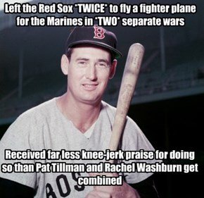 Duty: unlike you, Ted Williams did it right