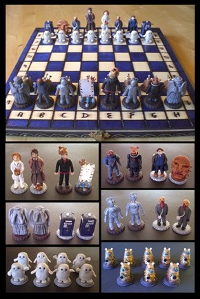 In Doctor Who Chess, Can The Doctor Regenerate?