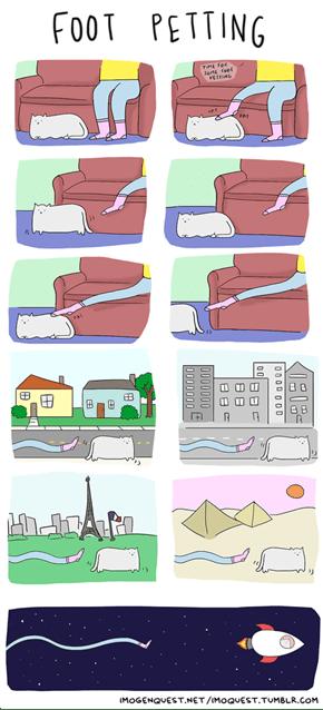 Foot Petting