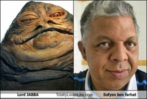Lord JABBA Totally Looks Like Sofyen ben farhat