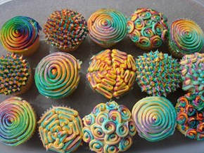 Are These Cupcakes Out of This World or is it Me?