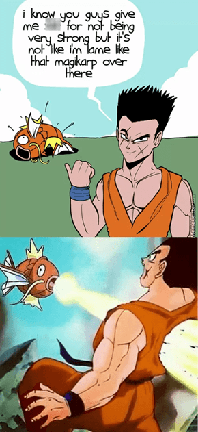 Magikarp is the Best Pokémon