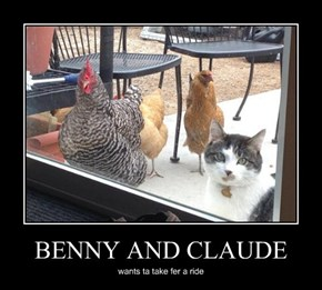 BENNY AND CLAUDE