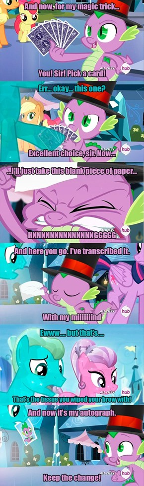 The Great and Powerful Spike