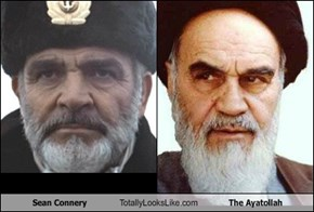 Sean Connery Totally Looks Like The Ayatollah